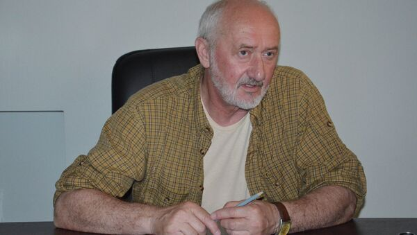 Главный режиссер абхазского драмтеатра Валерий Кове. - Sputnik Абхазия
