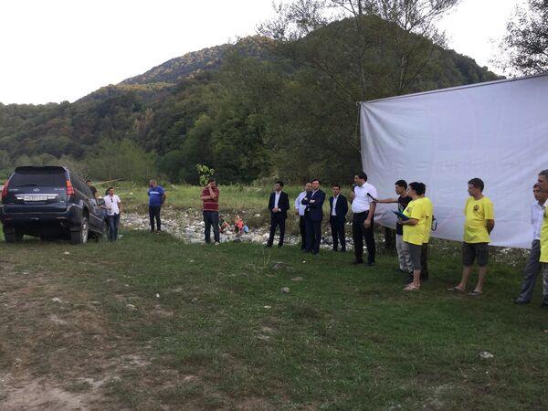 Соревнования по джип-триалу открылись в Сухумском район - Sputnik Абхазия