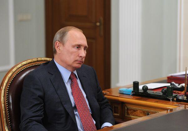Владимир Владимирович Путин. Архивное фото - Sputnik Абхазия