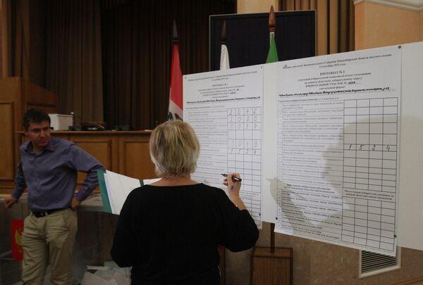 Единый день голосования в регионах России - Sputnik Абхазия