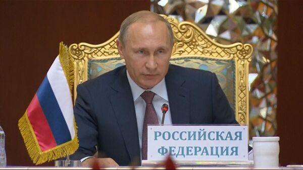 Путин о поддержке Сирии и причинах притока беженцев в Европу - Sputnik Абхазия