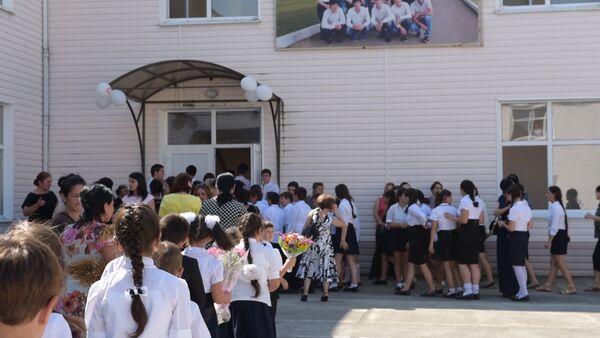 День знаний отпраздновали в Абхазском лицее-интернате - Sputnik Абхазия