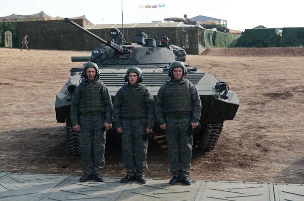 Стратегические командно-штабные учения учения Центр-2015 в Оренбургской области - Sputnik Абхазия