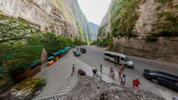 Виртуальная Абхазия: Юпсарский каньон - Sputnik Абхазия