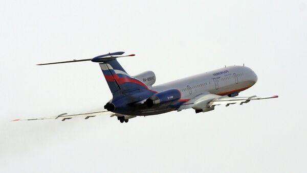Самолет Ту-154м авиакомпании Аэрофлот - Sputnik Абхазия