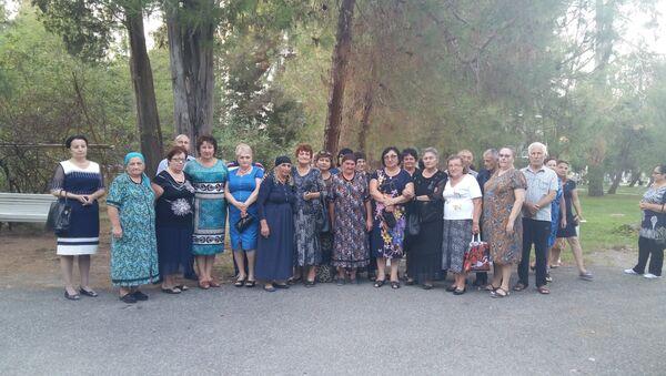 Встреча с семьями погибших в Абхазии добровольцев - Sputnik Абхазия