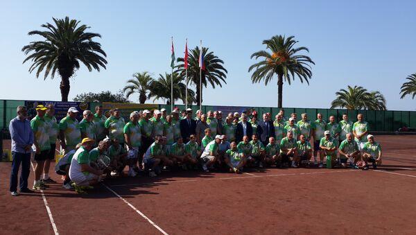 XIV международный теннисный турнир Большая Абхазская Шляпа открылся в Гагре - Sputnik Абхазия