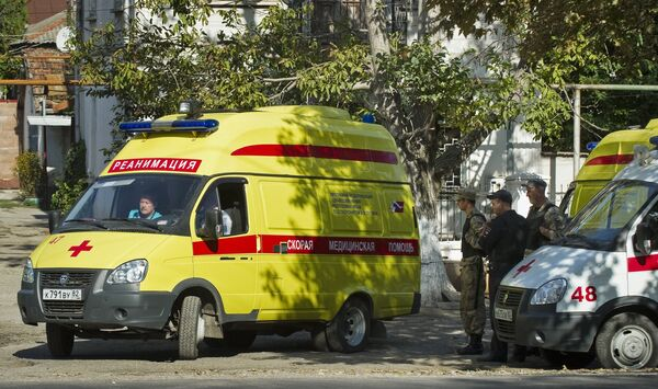 Нападение на станцию скорой помощи в Симферополе - Sputnik Абхазия