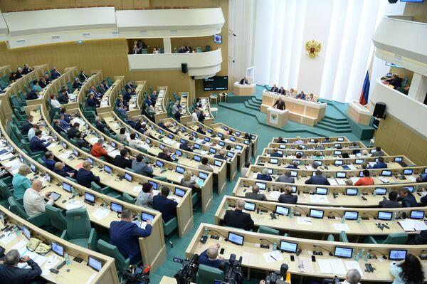Заседание Совета Федерации РФ. Архивное фото - Sputnik Абхазия
