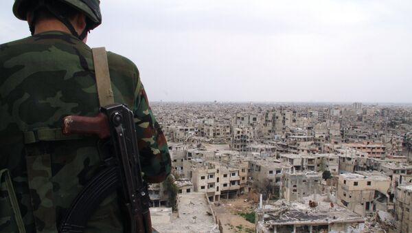Ситуация в сирийском городе Хомс - Sputnik Абхазия