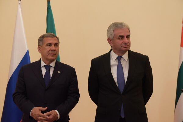 Минниханов: абхазские продукты будут востребованы на рынках Татарстана - Sputnik Абхазия