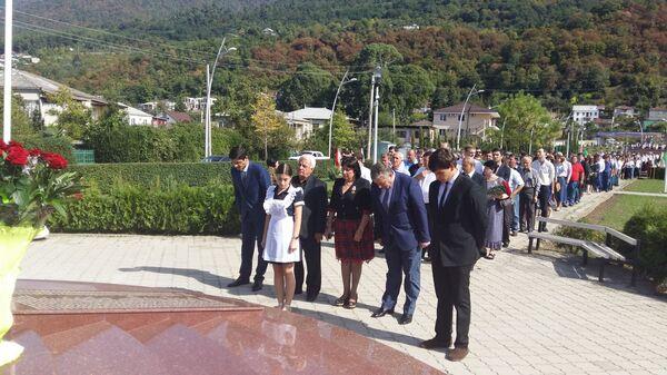 Годовщину со дня освобождения района отметили в Гагре - Sputnik Абхазия