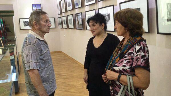 Родители погибшего добровольца Диколенко в Абхазии. - Sputnik Абхазия