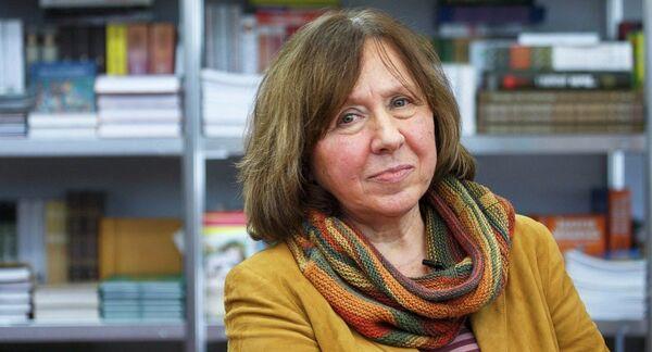 Светлана Алексиевич получила Нобелевскую премию - Sputnik Абхазия