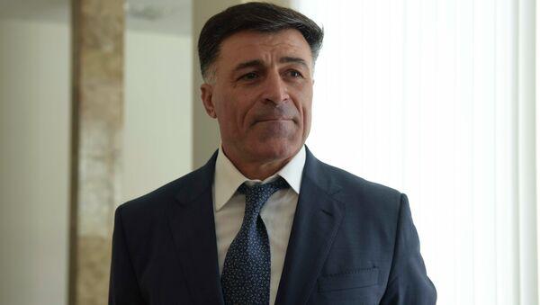 Министр МВД Леонид Дзапшба - Sputnik Аҧсны