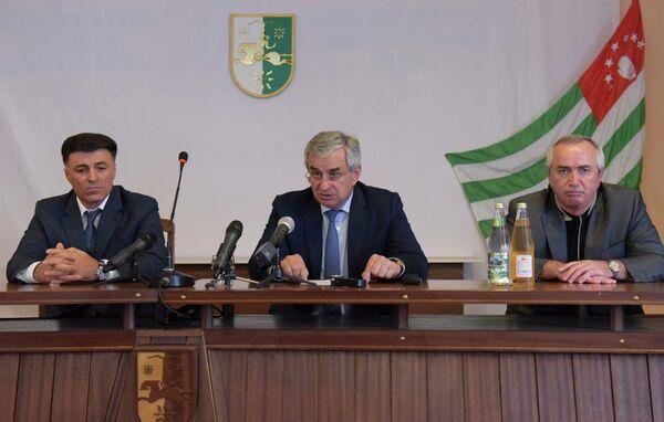 Представление нового министра МВД. - Sputnik Абхазия