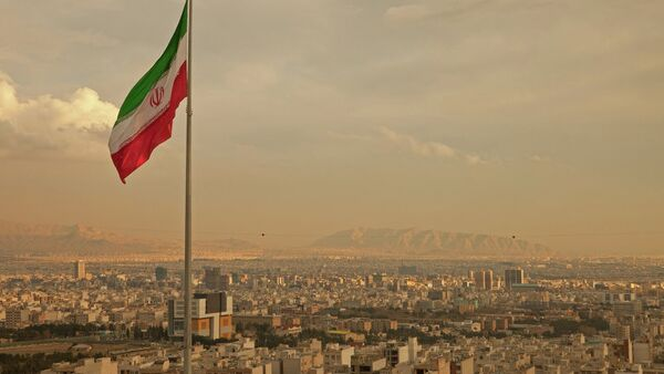 Флаг Ирана. АРХИВНОЕ ФОТО. - Sputnik Абхазия