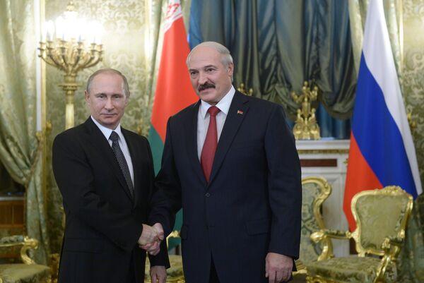 Заседание Высшего государственного совета Союзного государства России и Белоруссии в Москве.Архивное фото - Sputnik Абхазия