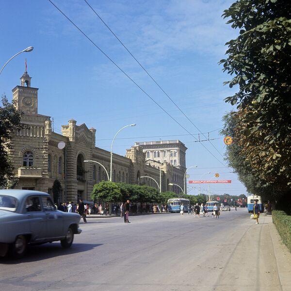Проспект Ленина в Кишиневе. Архивное фото - Sputnik Абхазия
