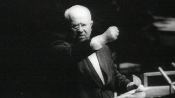 """Спутник_""""Пламенная"""" антиамериканская речь Никиты Хрущева в ООН в 1960 году - Sputnik Абхазия"""