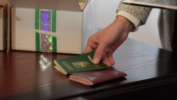 Паспорта нового образца. - Sputnik Абхазия