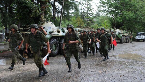 Российская военная база в Гудауте. - Sputnik Абхазия