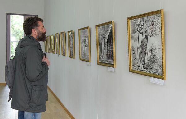 Выставка кабардинских художников - Sputnik Абхазия