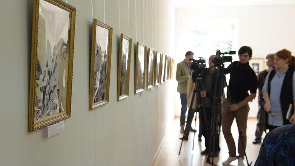 Графику кабардинских художников представили в Сухуме - Sputnik Абхазия