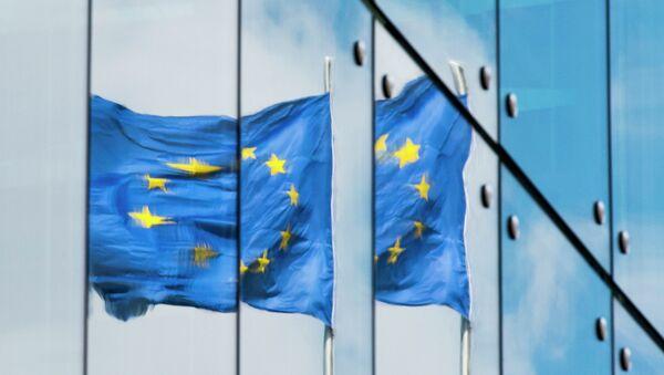 Флаг ЕС.Архивное фото. - Sputnik Абхазия