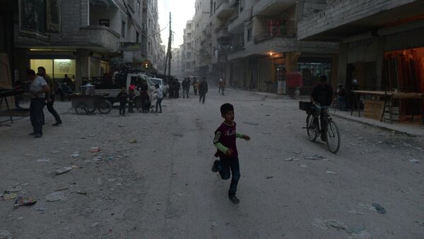 Беженцы из районов Сирии, захваченных боевиками Исламского государства - Sputnik Абхазия