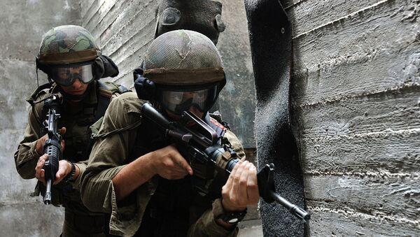 Действия спецподразделений вооруженных сил Израиля. Архивное фото - Sputnik Абхазия