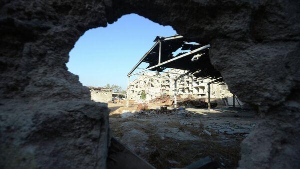 Разрушенные здания в районе Дахания в Дамаске. - Sputnik Абхазия