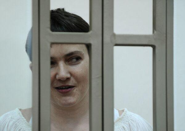 Очередное заседание суда по делу украинской летчицы Надежды Савченко. Архивное фото - Sputnik Абхазия
