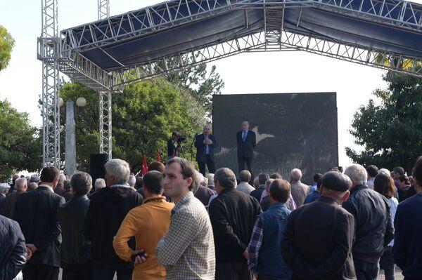 Митинг в поддержку Хаджимба - Sputnik Аҧсны