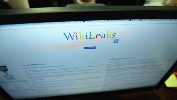 Главная страница сайта Wikileaks. - Sputnik Абхазия