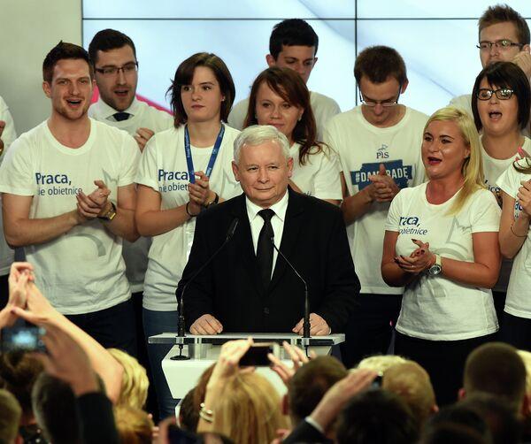 Ярослав Качиньский, лидер консервативной партии Право и справедливость. - Sputnik Абхазия
