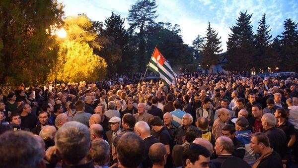 Власть и оппозиция- схватка над пропастью. - Sputnik Абхазия