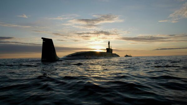 Атомная подводная лодка (АПЛ) Юрий Долгорукий. Архивное фото. - Sputnik Абхазия