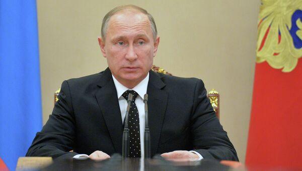 Президент РФ В.Путин. Архивное фото. - Sputnik Абхазия