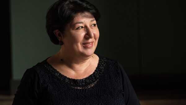 Народная артистка Республики Абхазия Марина Шамба. - Sputnik Абхазия