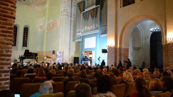 Абхазские музыканты выступили на гала-концерте в Пицунде - Sputnik Абхазия