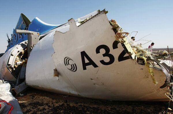 Место крушения российского самолета Airbus A321 в Египте - Sputnik Абхазия