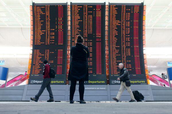 Аэропорт в Париже. Архивное фото. - Sputnik Абхазия
