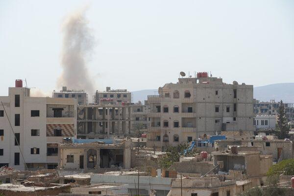 Ситуация в пригороде Дамаска Дарайе - Sputnik Абхазия