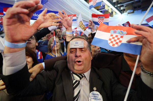 Выборы в Хорватии. - Sputnik Абхазия