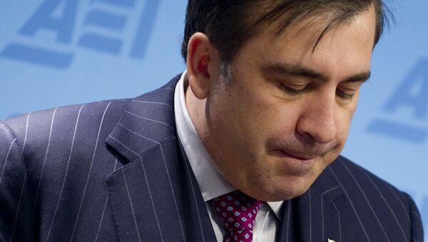 Михаил Саакашвили. Архивное фото. - Sputnik Абхазия