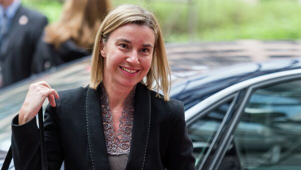 Глава дипломатии ЕС Федерика Могерини. Архивное фото - Sputnik Абхазия