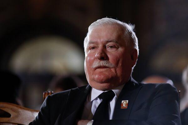 Бывший президент Польши Лех Валенса. - Sputnik Абхазия