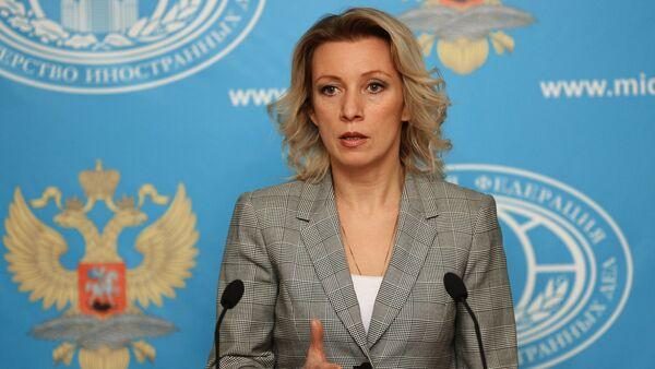 Официальный представитель министерства иностранных дел России Мария Захарова. - Sputnik Абхазия