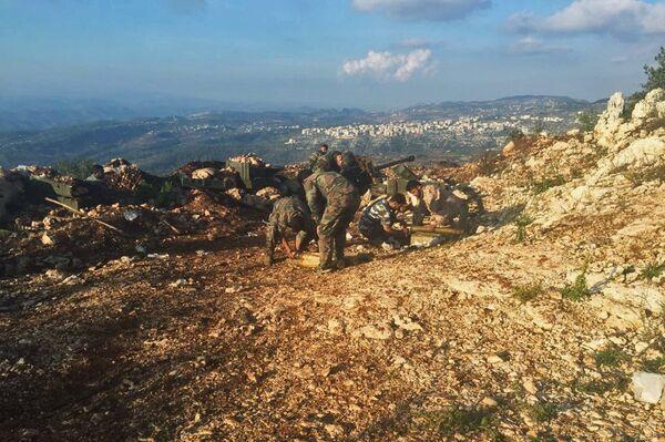 Позиция сирийской армии в районе поселения Араму - Sputnik Абхазия